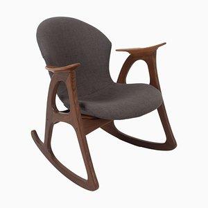 Rocking Chair by Aage Christiansen for Erhardsen & Andersen, Denmark, 1960s