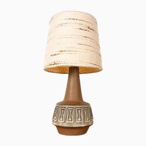 Lampe de Bureau en Grès par Helge Bjufstrøm pour Michael Andersen, Danemark, 1960s