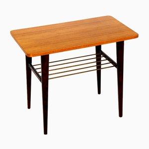 Teak Side Table, Sweden, 1950s
