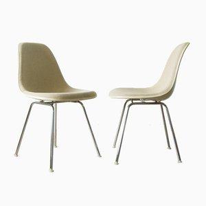 DSX Beistellstuhl von Charles & Ray Eames für Herman Miller, 1960er, 2er Set
