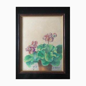 Pastell Stillleben mit Blumen