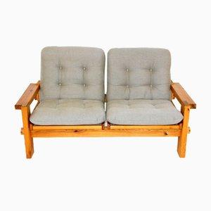 Skandinavisches 2-Sitzer Sofa von Yngve Ekström für Swedese, Schweden, 1970er