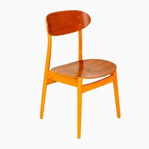 Skandinavischer Stuhl aus Teak, Schweden, 1950er