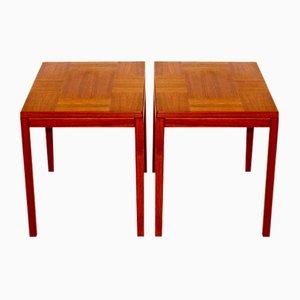 Teak Night Tables, Sweden, 1960s, Set of 2