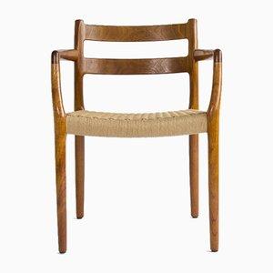 Danish Vintage Chair by Niels Møller Chair for J. L. Møllers