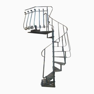 Liberty Iron Spiral Staircase