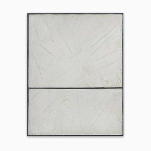 Pintura abstracta, blancos, 2014