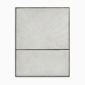 Whites, Abstract Painting, 2014