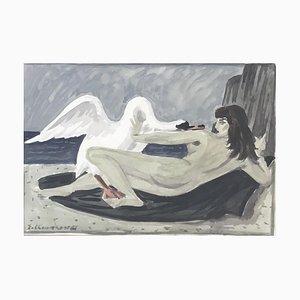 Emile-François Chambon, Léda et le cygne, 1966