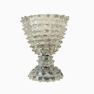 Lámpara de mesa Rostrato de cristal de Murano de Ercole Barovier para Barovier, años 40