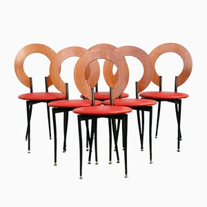 Postmodern Chairs from Segis, Set of 6