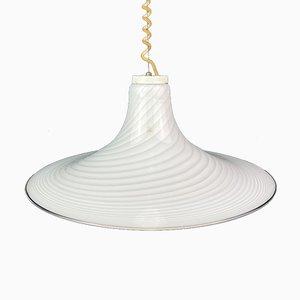 Swirl Murano Glass 004 Pendant Lamp, Italy, 1970s