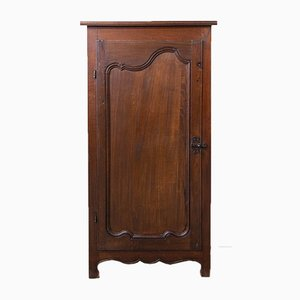 French Louis XV Style Corner Cabinet in Oak, Late 19th Century