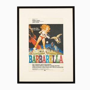 Poster Barbarella con Jane Fonda