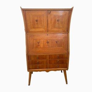 Inlaid Bar Cabinet in Ebony