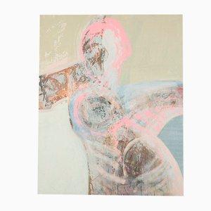 Human Leg, Oil & Acrylic on Canvas