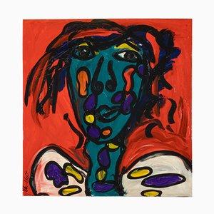 Crazy Guy, Acrylic on Canvas