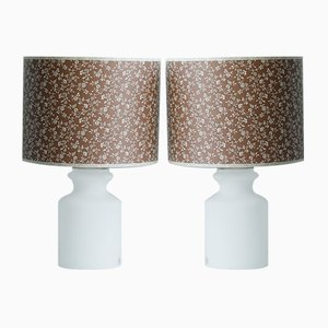 Glass Lamps from Odreco, Set of 2