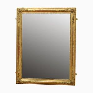 Vergoldeter Wandspiegel, 19. Jh
