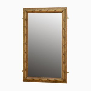 Spiegel mit vergoldetem Holzrahmen, frühes 19. Jh