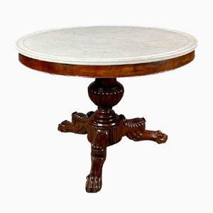 Tisch mit Marmorplatte, 19. Jh