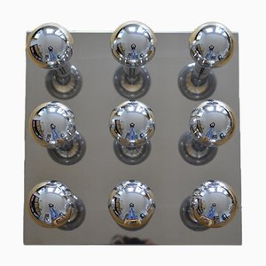 Large Vintage Space Age Ceiling Lamp by Motoko Ishii for Staff