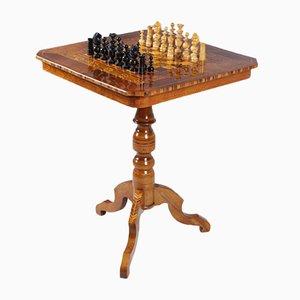 Tavolo da scacchi antico