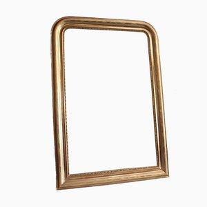 Goldener Spiegel im Louis-Philippe Stil