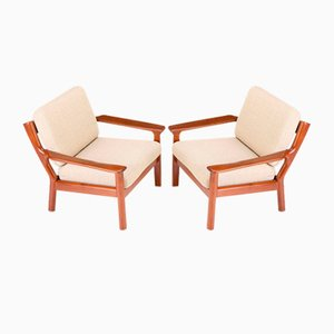 Lounge Chairs from Glostrup, Set of 2