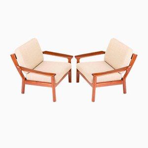 Sessel von Glostrup, 2er Set