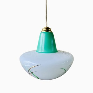 Lámpara colgante UFO Mid-Century, años 50 o 60
