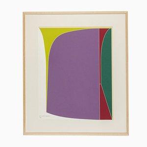 Angle, Color Lithograph