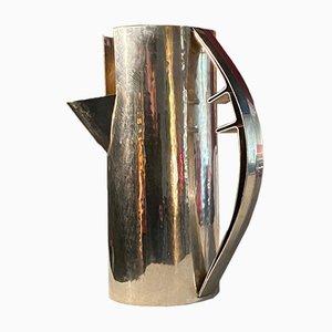 Karaffe aus 800 Silber von Carlo Scarpa für Cleto Munari, 1977