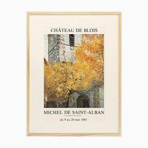 Poster della mostra di Michel de Saint-Alban