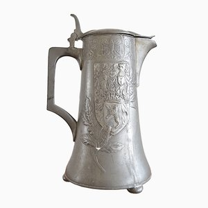 Pewter Ceremonial Jug with Berlin Coat of Arms from Kayser, 1900s