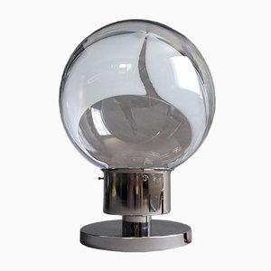 Membrane Tischlampe von Toni Zuccheri für Venini, Murano, Italien, 1960er