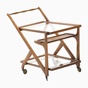 Bar Trolley with Tray by Cassina, 1950s