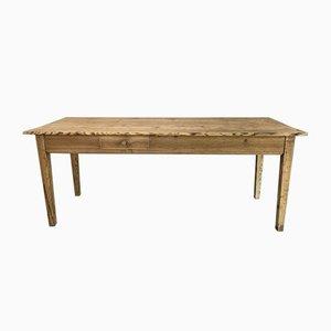 Französische rustikale Kiefer Tisch oder Esstisch