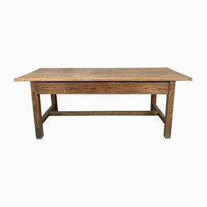 Französischer Esstisch aus Massivholz
