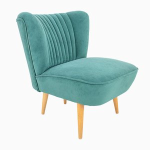Club Chair with New Upholstery, 1960s