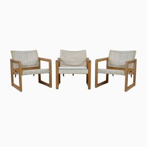 Diana Armchairs by Karin Mobring for Ikea, 1970s, Set of 3