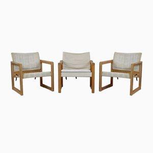 Fauteuils Diana par Karin Mobring pour Ikea, 1970s, Set de 3