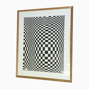Optical Exercise Table, Op Art, Doll