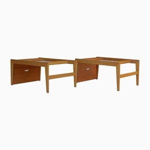 Multifunctional Triva Side Tables by Yngvar Sandström for Nordiska Kompaniet, 1960s, Set of 2