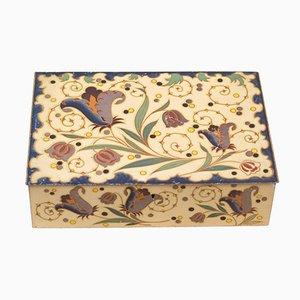 Verzinnte Box von Wed. J. Bekkers & Zoon Dordrecht, Holland, 1920er