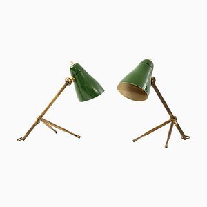 Modell Ochetta Tisch- / Wandlampen von Giuseppe Ostuni für O-Luce, Italy, 2er Set