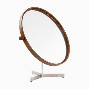 Table Mirror by Uno & Östen Kristiansson for Luxus in Vittsjö, Sweden