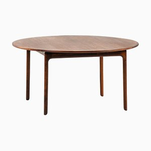 Ole Wanscher Coffee Table Produced by P. Jeppesens Furniture Factory in Denmark