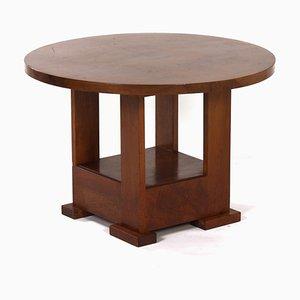 Tavolino da caffè Art Déco di Bas van Pelt per My Home, anni '30