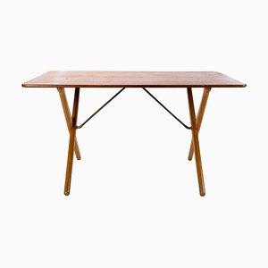Table Basse AT-308 à Pieds Croisés par Hans J. Wegner pour Andreas Tuck